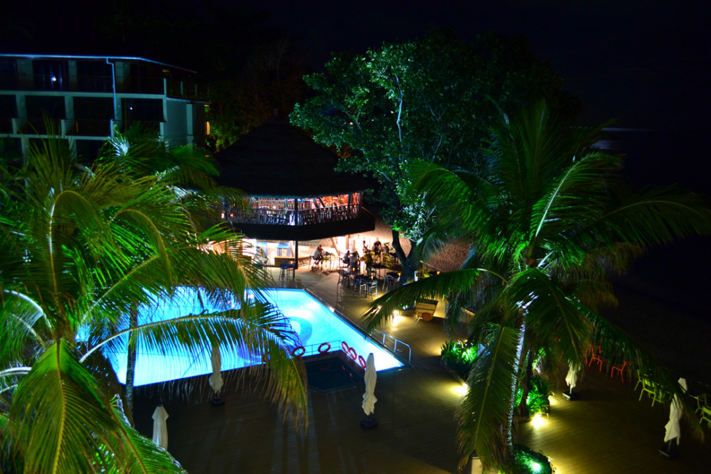 Seychelles at nigh