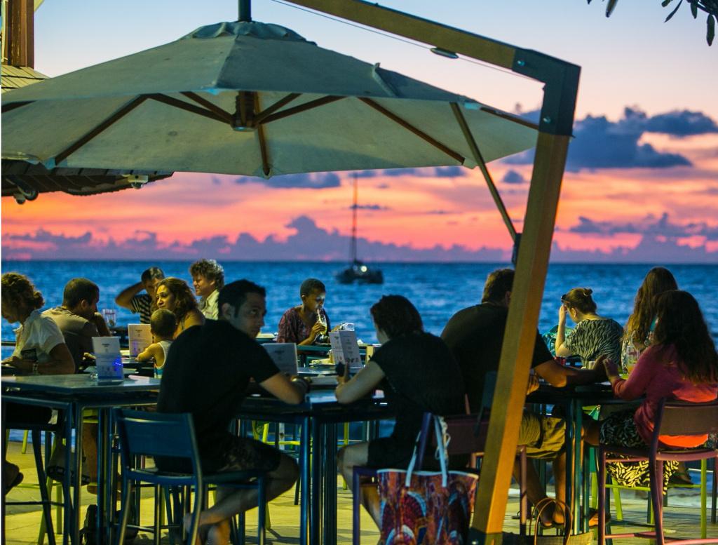 Ocean Deck bar